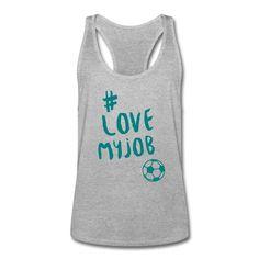 Du liebst, was du tust und du tust was du liebst – und du liebst Fußball ... Zeig es allen! • Sportlich geschnittenes Tank Top für Männer