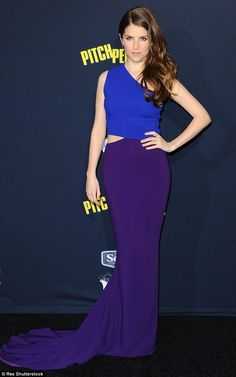 Violet vixen: Kendrick (seen here in May) signed on to play Beca in Pitch Perfect 3 last m...