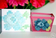 Share Tweet Pin Mail I am loving all of the fun cross-stitch projects I've been seeing everywhere. And I love that cross-stitch is making ...