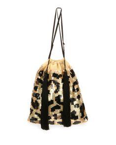 Full Sequin Leopard Pouch Bag Bolsa De Palha, Tecidos, Moda Mulhere,  Bergdorf Goodman 8289bd4184