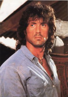Sylvester Stallone ... Don't judge, I loved him!