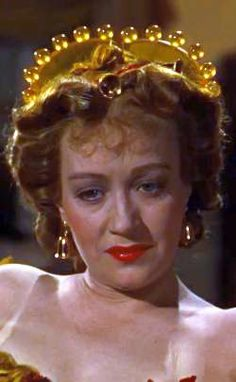 Ona Munson as Belle Watling in Gone with the Wind wearing Joseff Hollywood Bell earrings