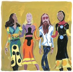 """The Unknown Hipster reflects on """"Stephen Burrows : When Fashion Danced"""" exhibition at the Museum of the City of NY, for GCasa's L'Intervista Impossibile, April 2013 Issue."""