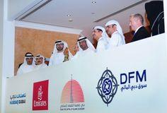 Sheikh Ahmen Bin Saeed Rings the Bell for Emirates Sukuk Listing on NASDAQ Dubai