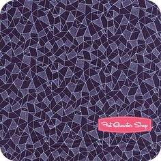 Luxe in Bloom Cobalt Crystalline Yardage SKU# LIB-7206 - Fat Quarter Shop
