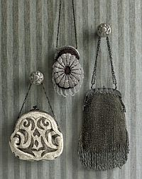 Idea for displaying my vintage evening bags in the bedroom or necklaces