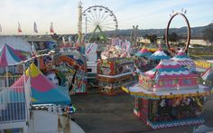 Eyes Like Carnivals | A writers year working in carnivals, vignettes on America from the road