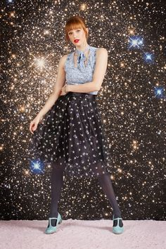 Explore and all-star lineup of constellation prints and star and moon skirts you'll love to the moon & back.