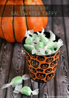 October Kitchen Challenge | Green Apple Saltwater Taffy | Food Family & Finds
