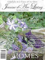 Preorder Jeanne d' Arc Living Magazine , August '14