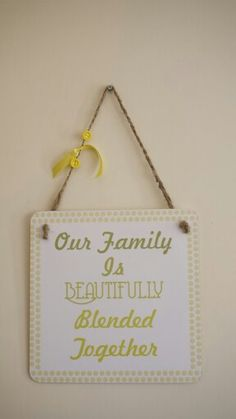 Beautifully blended family
