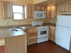 This is the Pacific Loft Tiny House on Wheels by Rich's Portable Cabins. It's a 399 sq. park model tiny home that's about long (including the porch). Tiny House Layout, Small Tiny House, Tiny House Living, Tiny House On Wheels, Small House Plans, House Floor Plans, Cozy House, Small Houses, Living Room