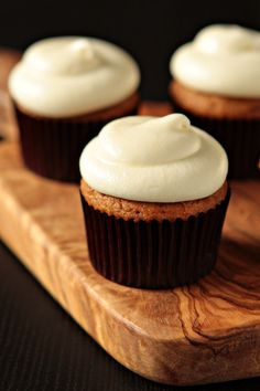 These sound amazing! Pumpkin Spice Cupcakes: Easy when you start with a box of Spice Cake mix!