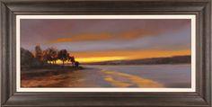 Michael John Ashcroft, MAFA, Original oil painting on panel, Sunset Strip