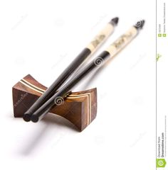 chopstick rest | Chopsticks On A Chopstick Rest Royalty Free Stock Photos - Image ...