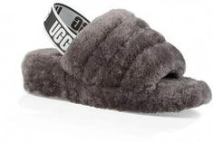 ad770f3952b3 UGG Fluff Yeah Genuine Shearling Slide Slipper I need these in Black