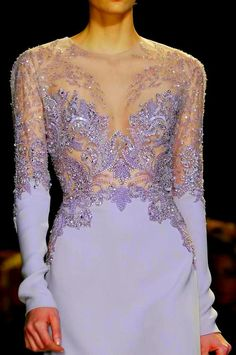 fadzfadiel:    Details from Elie Saab Spring 2013 Haute Couture.