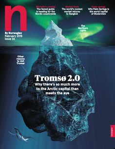 N Magazine's February 2015 edition is out now. Check out the stunning cover and feature article about the Norwegian Capital City Tromso here: http://ink-live.com/emagazines/norwegian-magazine/1841/february-2015/