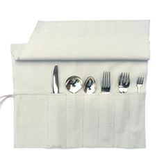 Anti Tarnish Flatware Roll   Sterling Silver Flatware Storage, Monogrammed Storage  Bags, Silverware Roll