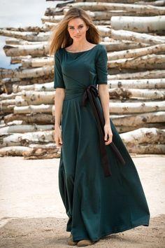 J adore long dresses modest