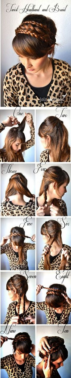 Braided Headband Tutorial for ladies must try it at home