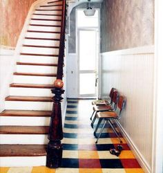 ... floors on Pinterest | Linoleum flooring, Painted linoleum floors and