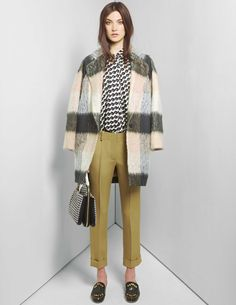 More menswear inspired fashion, by Chloé