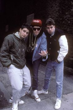 Beastie Boys......changed the game, the boys of beastie were always on!