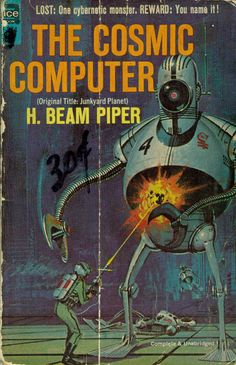 Incredible Vintage SF pulp and paperback art by modern_fred, via Flickr
