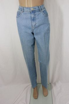 Gloria Vanderbilt Light Blue Denim Jean Pant Size 6