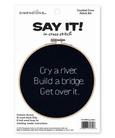 Loving this 'Cry a River' Needlecrafts Kit on #zulily! #zulilyfinds