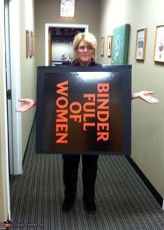 Binder full of Women - 2012 Halloween Costume Contest