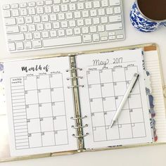 Hello Planner Friends, I'm back again with another planner printable roundup! This time, I'm gathering up all of my calendar printables! I have one daily, two weekly, and one monthly ro…