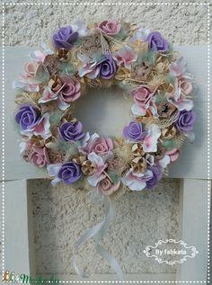 Tavaszi pasztell lilás szett (fabkata) - Meska.hu