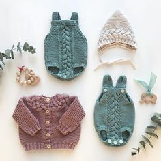 Trendy Knitting Baby Clothes For Girls 41 Ideas Knitting For Kids, Baby Knitting Patterns, Baby Patterns, Stitch Patterns, Knitted Baby Clothes, Knitted Hats, Boho Baby, Little Babies, Baby Dress