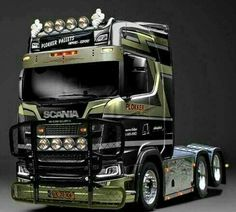 Scania cab.