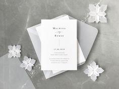Identity Design, Visual Identity, Logo Design, Simple Elegant Wedding, Minimal Wedding, Color Trends, Design Trends, Vellum Envelope, Origami Flowers