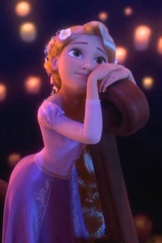 Rapunzel is the prettiest princess ever. Tangled is the best Disney movie ever! Don't you guys agree?