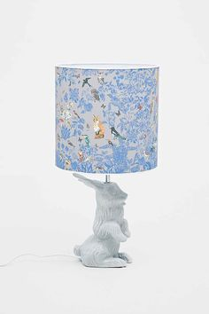 Nathalie Lete Jeannot Lapin Lamp in Grey