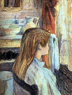 Jeune femme pensive assise devant la fenetre by franz for Devant la fenetre