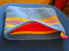 vanity cases - crocheted cotton thread with lining