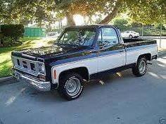 Image result for blue 1973 chevy c10