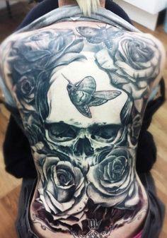 full back tattoos   Download Full Back Tattoos For Girls