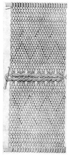 FolkCostume: Kykai, netted or sprang caps of Lithuania and crocheted descendants