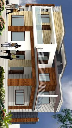 House Main Gates Design, Modern Exterior House Designs, Simple House Design, Bungalow House Design, House Front Design, Modern House Design, Model House Plan, New House Plans, House Architecture Styles