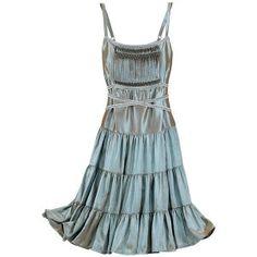 Iridescent Copper Dress