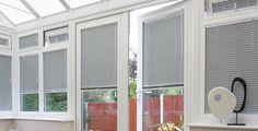 Not sure what kind of blind you have? If the blind is made up of separate horizontal slats one above the other suspended by strips of cloth or cords then this is a Venetian Blind! House Blinds, Conservatory, Venetian, Windows, Cords, Separate, Interior, Kitchen, Summer