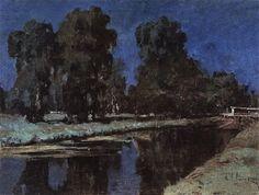 Isaac Levitan (1860-1900), Nuit de Clair de Lune - 1899