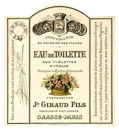 Vintage French Clip Art | Vintage French Labels, Giveaways and other things
