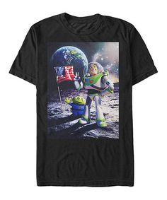 Love this Black Toy Story Cosmic Explorer Tee - Men's on #zulily! #zulilyfinds